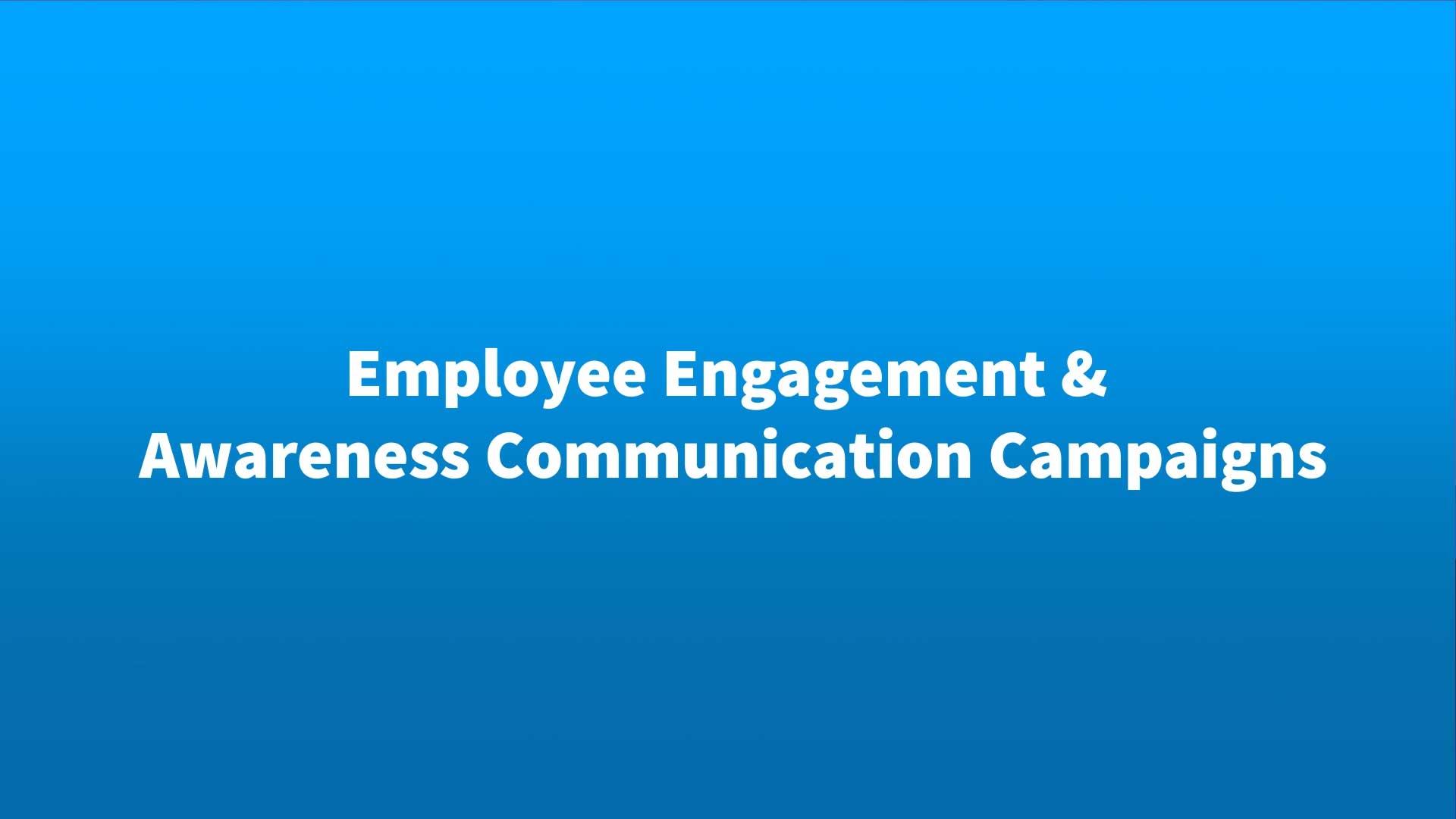 Employee Engagement Video